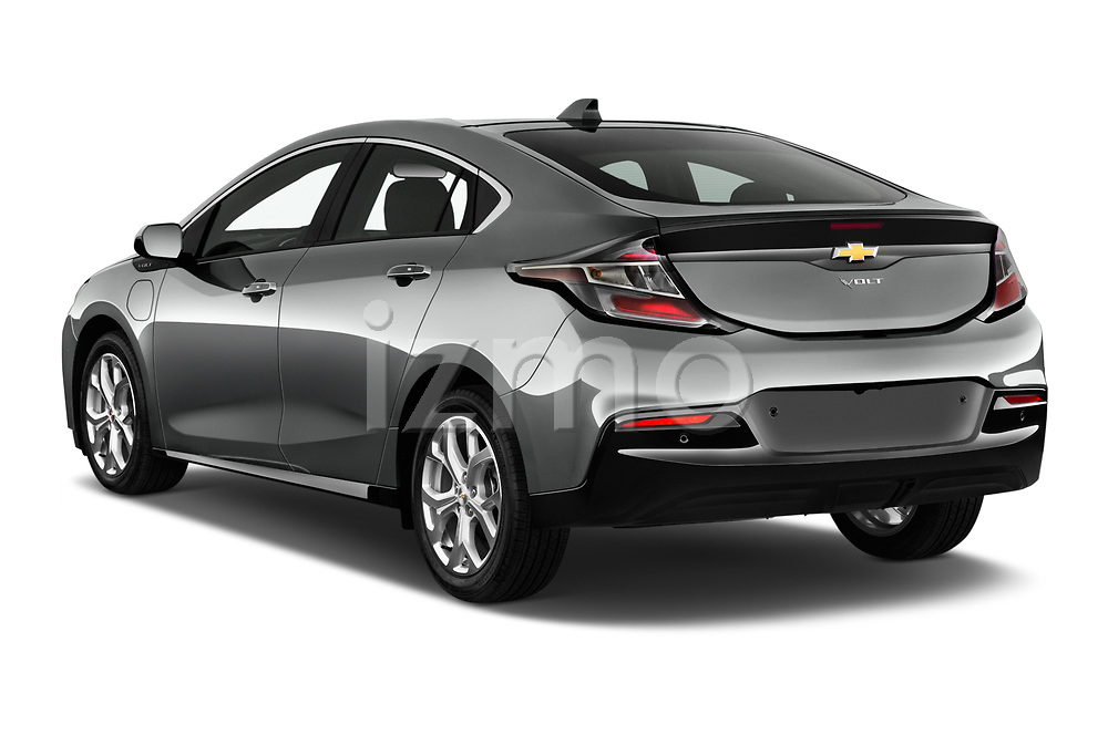 Car pictures of rear three quarter view of 2016 Chevrolet Volt Premier 5 Door Hatchback Angular Rear