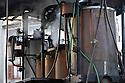 26/10/08 - MASSIAC - CANTAL - FRANCE - Campagne de distillation de Mme CHANDEZE. Bouilleur de cru ambulant - Photo Jerome CHABANNE
