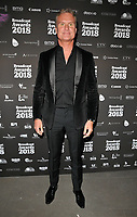 David Coulthard at the Broadcast Awards 2018, Grosvenor House Hotel, Park Lane, London, England, UK, on Wednesday 07 February 2018.<br /> CAP/CAN<br /> &copy;CAN/Capital Pictures