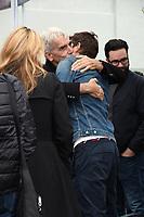 07 January 2019 - Hollywood, California - Sam Elliott, Ashton Kutcher. Sam Elliott Hand And Footprint Ceremony held at TCL Chinese Theatre. <br /> CAP/ADM/BT<br /> &copy;BT/ADM/Capital Pictures