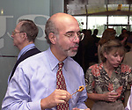 Richard Galant photographed at the Celebration of the 35th Anniverserary of Newsday Investigations Team held in Newsday Auditorium in Melville on Thursday September 26, 2002. (Newsday photo by Jim Peppler).