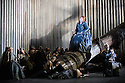 London, UK. 15.02.2016. English National Opera presents a new production of NORMA, by Vincenzo Bellini, directed by Christopher Alden, at the London Coliseum. Picture shows: Marjorie Owens (Norna). Photograph © Jane Hobson.