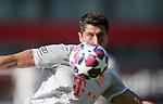 Robert Lewandowski #9 von FC Bayern Muenchen<br /><br />Testspiel Audi Football Summit FC Bayern Muenchen - Olympique Marseille  auf dem FC Bayern Campus<br />Saisonvorbereitung  2020 / 2021  <br /><br />Foto : Stefan Matzke / sampics / Pool via nordphoto / Bratic<br /><br />Nur für journalistische Zwecke ! Only for editorial use !<br /><br />DFL regulations prohibit any use of photographs as image sequences and/or quasi-video