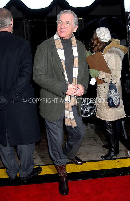 WWW.ACEPIXS.COM . . . . . ....January 18, 2007, New York City. ....Sidney Pollack attends the Premiere of 'Breaking and Entering'.  ....Please byline: KRISTIN CALLAHAN - ACEPIXS.COM.. . . . . . ..Ace Pictures, Inc:  ..(212) 243-8787 or (646) 769 0430..e-mail: info@acepixs.com..web: http://www.acepixs.com