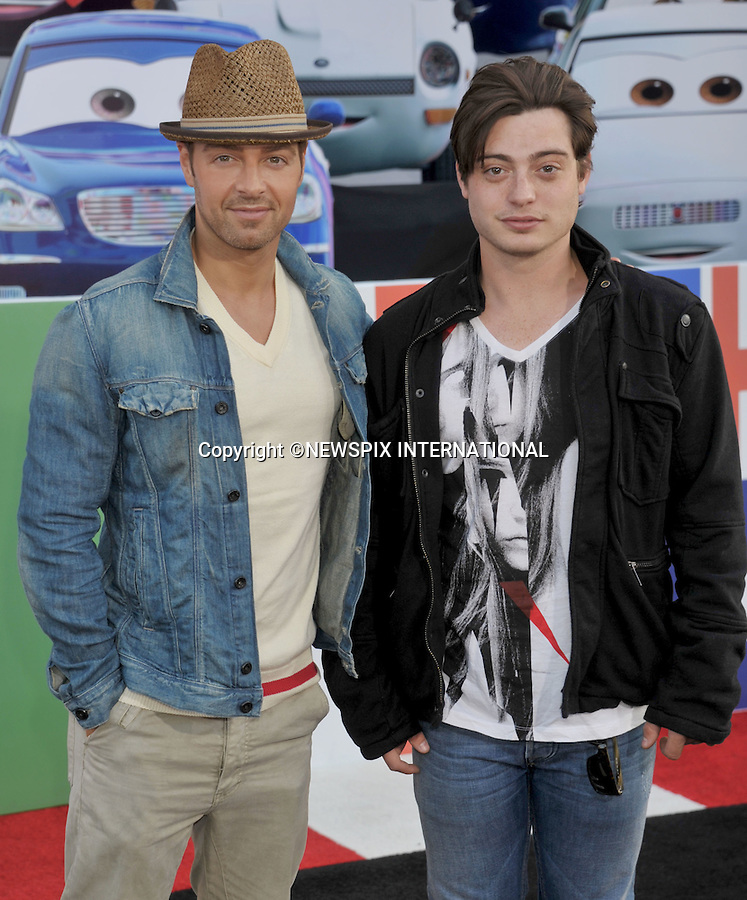 """JOEY AND ANDREW LAWERENCE.attends the World Premiere of Disney Pixar's """"Cars 2"""" at the El Capitan Theatre on June 18, 2011 in Hollywood, California_18/06/201.Mandatory Photo Credit: ©Crosby/Newspix International. .**ALL FEES PAYABLE TO: """"NEWSPIX INTERNATIONAL""""**..PHOTO CREDIT MANDATORY!!: NEWSPIX INTERNATIONAL(Failure to credit will incur a surcharge of 100% of reproduction fees).IMMEDIATE CONFIRMATION OF USAGE REQUIRED:.Newspix International, 31 Chinnery Hill, Bishop's Stortford, ENGLAND CM23 3PS.Tel:+441279 324672  ; Fax: +441279656877.Mobile:  0777568 1153.e-mail: info@newspixinternational.co.uk"""