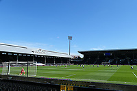 18th July 2020; Craven Cottage, London, England; English Championship Football, Fulham versus Sheffield Wednesday; Both sides take a knee before kick off