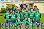 Conor Delves, Anthony Doona, Shane Murphy, James Suter, Padraig Coffey, Ronan Brosnan, Ryan Sweeney, Brendan Cronin, Ronan Buckley, Michael Healy, Kevin Coffey, Bryan English, Declan Floyd, Brian Coffey, Paul Murphy and Ciaran Kennedy and teacher Pat Fitzgerald, Cullina National School, Beaufort, who won the Mid Kerry Coiste na nO?g final recently.