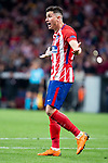 Atletico de Madrid Jose Maria Gimenez during Europa League Semi Finals First Leg match between Atletico de Madrid and Arsenal FC at Wanda Metropolitano in Madrid, Spain. May 03, 2018.  (ALTERPHOTOS/Borja B.Hojas)