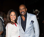 NEW ORLEANS, LA - JULY 4: Soledad O'Brien and Steve Harvey attends the 2014 Essence Music Festival at the Ernest N. Morial Convention Center on July 4, 2014 in New Orleans, Louisiana. Photo Credit: Morris Melvin / Retna Ltd.