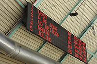 SCHAATSEN: HEERENVEEN: 27-12-2013, IJsstadion Thialf, KNSB Kwalificatie Toernooi (KKT), uitslag 3000m, scorebord, ©foto Martin de Jong