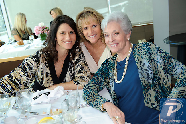 Lesley Aletter, Kyle Oldham, Lee Meriwether (M.A. 1965) at the 90th Anniversary Miss America luncheon held at Nieman Marcus inside the Fashion Show Mall, Las Vegas, NV, January 13, 2011 © Al Powers / Vegas Magazine