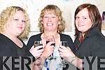 TOASTING: Sharon and Audrey Quirke and Emily Ellard (Tralee) having a great night at the Murder Mystery for ADAPT at The Manor West Hotel, Tralee, on Friday night..