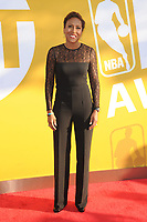 www.acepixs.com<br /> June 26, 2017  New York City<br /> <br /> Robin Roberts attending the 2017 NBA Awards live on TNT on June 26, 2017 in New York City.<br /> <br /> Credit: Kristin Callahan/ACE Pictures<br /> <br /> <br /> Tel: 646 769 0430<br /> Email: info@acepixs.com