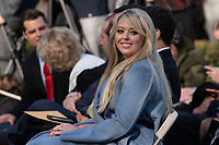 Tiffany Trump, the daughter of United States President Donald J. Trump, attends the National Thanksgiving Turkey presentation in the Rose Garden of the White House in Washington, DC on Tuesday, November 26, 2019.<br /> CAP/MPI/RS<br /> ©RS/MPI/Capital Pictures