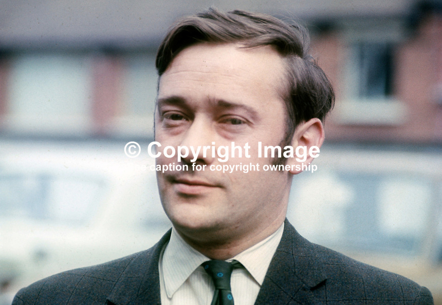 Bob Cooper, aka Robert Cooper, founder member, Alliance Party of N Ireland, April 1970, 197004000132<br />