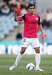 Malaga's Jose Garcia Recio during La Liga Match. March 03, 2012. (ALTERPHOTOS/Alvaro Hernandez)