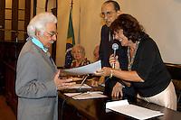 Posse do professor Roberto Santos no Instituto Histórico e Geográfico do Pará.<br /> Foto Paulo Santos<br /> 03/2007