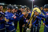 151213 Twenty20 Cricket Final - Auckland Aces v Otago Volts