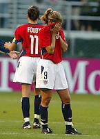 Mia Hamm, USA vs. Germany, 2003 WWC.