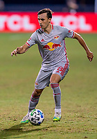 16th July 2020, Orlando, Florida, USA;  New York Red Bulls midfielder Jared Stroud (8) during the MLS Is Back Tournament between the Columbus Crew SC versus New York Red Bulls on July 16, 2020 at the ESPN Wide World of Sports, Orlando FL.