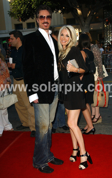 **ALL ROUND PICTURES FROM SOLARPIX.COM**.**SYNDICATION RIGHTS FOR UK, SPAIN, PORTUGAL, AUSTRALIA, S.AFRICA & DUBAI (U.A.E) ONLY**.The Hollywood actor James McAvoy attended Wanted the World Premiere at the Mann's Village Theater in Westwood California in the USA. .This Pic:Marc Silvestri and Bridget Silvestri..JOB REF:6693-PHZ/Albert .L.Ortega     DATE:19_06_08 .**MUST CREDIT SOLARPIX.COM OR DOUBLE FEE WILL BE CHARGED* *UNDER NO CIRCUMSTANCES IS THIS IMAGE TO BE REPRODUCED FOR ANY ONLINE EDITION WITHOUT PRIOR PERMISSION*
