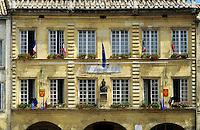 France. Mairie/Hotel de Ville. Pont St. Esprit. Gard.  Also the Museum Paul-Raymond.  .