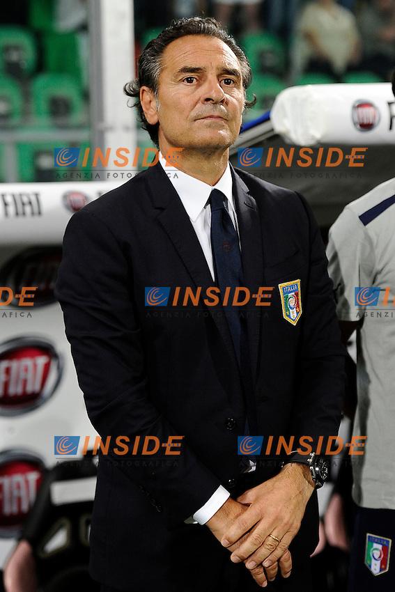 Cesare Prandelli Italia <br /> Palermo 06-09-2013 Stadio La Favorita  - qualificazione mondiale Brasile 2014 / Italia-Bulgaria / foto Daniele Buffa/Image Sport/Insidefoto