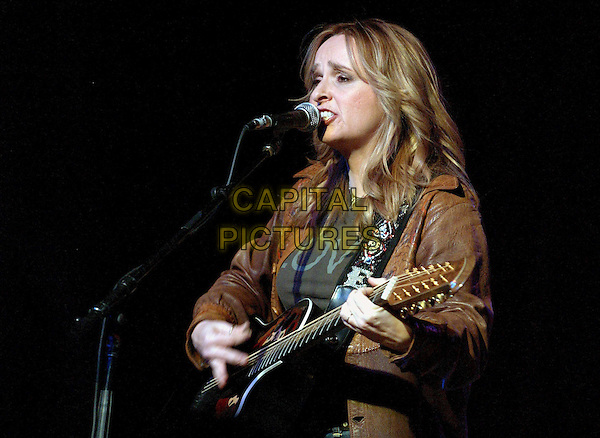 MELISSA ETHERIDGE .Rock for Choice Benefit Concert held at The Hollywood Palladium in Hollywood, California .23 January 2004       .*UK Sales Only*                                           .music, gig, singing, live, playing guitar                                    .www.capitalpictures.com.sales@capitalpictures.com.©Capital Pictures.