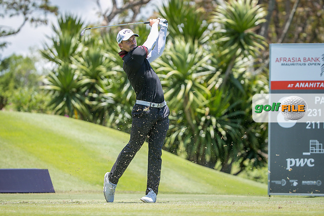 Haydn Porteous (RSA) during the 2nd round of the AfrAsia Bank Mauritius Open, Four Seasons Golf Club Mauritius at Anahita, Beau Champ, Mauritius. 30/11/2018<br /> Picture: Golffile | Mark Sampson<br /> <br /> <br /> All photo usage must carry mandatory copyright credit (© Golffile | Mark Sampson)