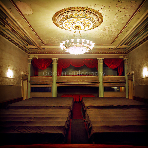 During the conflict the all troup actors working for the National Theatre of Stepanakert were .involved as soldiers. Minwhile the Armenians refugees from Azerbaidjan were having a shelter .inside the different rooms of the theatre..