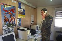 - NATO intervention in Bosnia Herzegovina, inter-force unit for psychological warfare and propaganda in Mostar, German officer (March 1998)<br /> <br /> - Intervento NATO in Bosnia Herzegovina, unità interforze per la guerra psicologica e propaganda a Mostar, ufficiale tedesco ( marzo1998)
