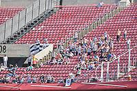 SÃO PAULO,SP, 31.07.2016 - SÃO PAULO-XV DE PIRACICABA - A torcida do XV de Piracicaba durante partida válida pela 6ª (sexta) rodada da Copa Paulista 2016, no  no Estádio Cícero Pompeu de Toledo, o Morumbi, neste domingo, 31.  (Foto: Mauricio Bento/Brazil Photo Press)