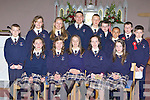 Knocknagoshel NS pupils who received their Confirmation in St Mary's church Knocknagoshel on Saturday front row l-r: Merrisa Hickey, Avril Fallon, Maire Sheehan, Deirdre O'Connor, Aoife Roche. Back row: Cieran Cotter, Eva Collins, Charolette Collins, Neily Curtin, Aaron Duncan, Se? Shanahan, Milan Williams, Freddie Browne and Cillian O'Connor.