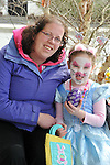 "REPRO FREE: EASTER SUNDAY EGG HINT TRALEE:.Doreen and Katelyn O""Sullivan from Castleisland pictured at the Cadbury Easter Egg Hunt in the Ballygarry House Hotel & Spa in Tralee on Easter Sunday..Picture by Don MacMonagle"