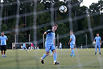 CARY, NC - OCTOBER 06: UNC's Cam Lindley. The University of North Carolina Tar Heels hosted the Wake Forest University Demon Deacons on October 6, 2017 at Koka Booth Field at WakeMed Soccer Park in Cary, NC in a Division I college soccer game.