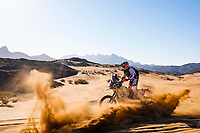 5th January 2020, Jeddah, Saudi Arabia;  129 Berrocal Antonio Lincoln bra, KTM, Team Pro Tork Bike, during Stage 1 of the Dakar 2020 between Jeddah and Al Wajh, 752 km  - Editorial Use