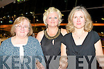 FUN TIME: Having a fun time at the Kingdom Greyhound Stadium Night at the Dogs on Friday l-r: Anne Murphy, Shelia O'Neill and Anne O'Mahony...
