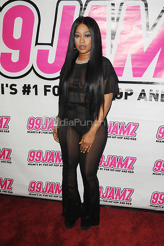 FORT LAUDERDALE FL - APRIL 20: Trina at 99JAMZ sessions at Revolution on April 20, 2017 in Fort Lauderdale, Florida. Credit: mpi04/MediaPunch