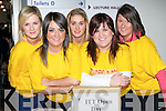 ...ITT: ITT Student Tralee who were helping out school on their visit on their Open Day on Monday l-r: Heather Durney, Grace Healy, Alice Chambers, Karen Linehan and Ciara Enright...........   Copyright Kerry's Eye 2008