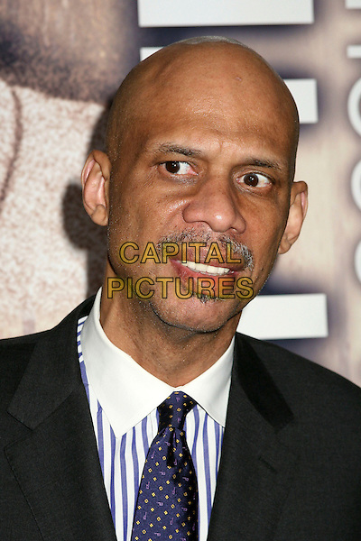 "KAREEM ABDUL-JABBAR.4th Annual ""In the Spirit of The Game"" Auction and Dinner Gala at the Beverly Hilton Hotel, Beverly Hills, California, USA, 6 Januray 2007..fportrait headshot.CAP/ADM/BP.©Byron Purvis/Admedia/Capital Pictures"