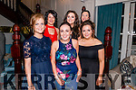 South West Harriers Hunt Club Social night in the Avenue Hotel, Killarney last Saturday night.<br /> Pictured front L-R Elana Regan, Danielle Brosnan and Laura Joy, back L-R Catriona Moriarty, Sarah Joy and Margaret Moriarty.