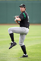 June 13th 2008:  Pitcher Josh Ravin of the Dayton Dragons, Class-A affiliate of the Cincinnati Reds, during a game at Stanley Coveleski Regional Stadium in South Bend, IN.  Photo by:  Mike Janes/Four Seam Images