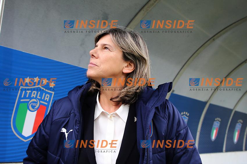 Milena Bartolini coach of Italy<br /> Castel di Sangro 12-11-2019 Stadio Teofolo Patini <br /> Football UEFA Women's EURO 2021 <br /> Qualifying round - Group B <br /> Italy - Malta<br /> Photo Cesare Purini / Insidefoto