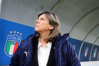 Milena Bartolini coach of Italy<br /> Castel di Sangro 12-11-2019 Stadio Teofolo Patini <br /> Football UEFA Women's EURO 2021 <br /> Qualifying round - Group B <br /> Italy - Malta<br /> Photo Cesare Purini / Insidefoto