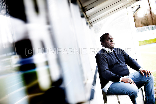 John Bico, football manager and genereal manager of White Star Bruxelles (Belgium, 14/02/2014)