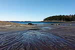 View of Birch Point Beach, Owls Head, Knox County, Maine, USA