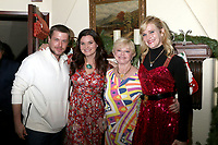 LOS ANGELES - DEC 16:  David Tom, Heather Tom, Marie Tom, Nicholle Tom at the Heather Tom, James Achor, Zane Achor Christmas Party at their private residence on December 16, 2017 in Glendale, CA