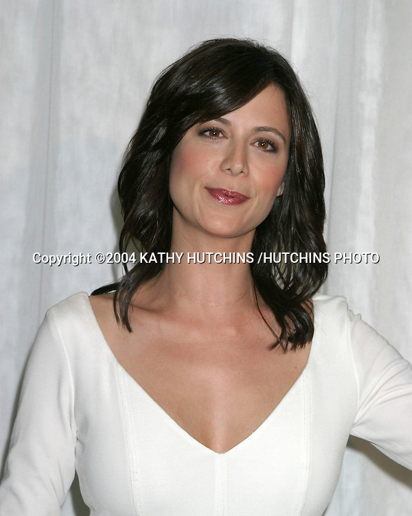 "©2004 KATHY HUTCHINS /HUTCHINS PHOTO.200 SHOW PARTY FOR ""JAG"".LOS ANGELES, CA.APRIL 12, 2004..CATHERINE BELL"