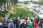 Jason Scrivener of Australia tees off the first hole during the 58th UBS Hong Kong Golf Open as part of the European Tour on 11 December 2016, at the Hong Kong Golf Club, Fanling, Hong Kong, China. Photo by Marcio Rodrigo Machado / Power Sport Images