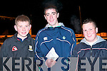 RACE NIGHT: Enjoying the races at the Kingdom Greyhound Stadium Night at the Dogs on Friday l-r: John O'Rourke Ballyduff, David Galvin Lixnaw and Kevin O'Connor Ballyduff..   Copyright Kerry's Eye 2008